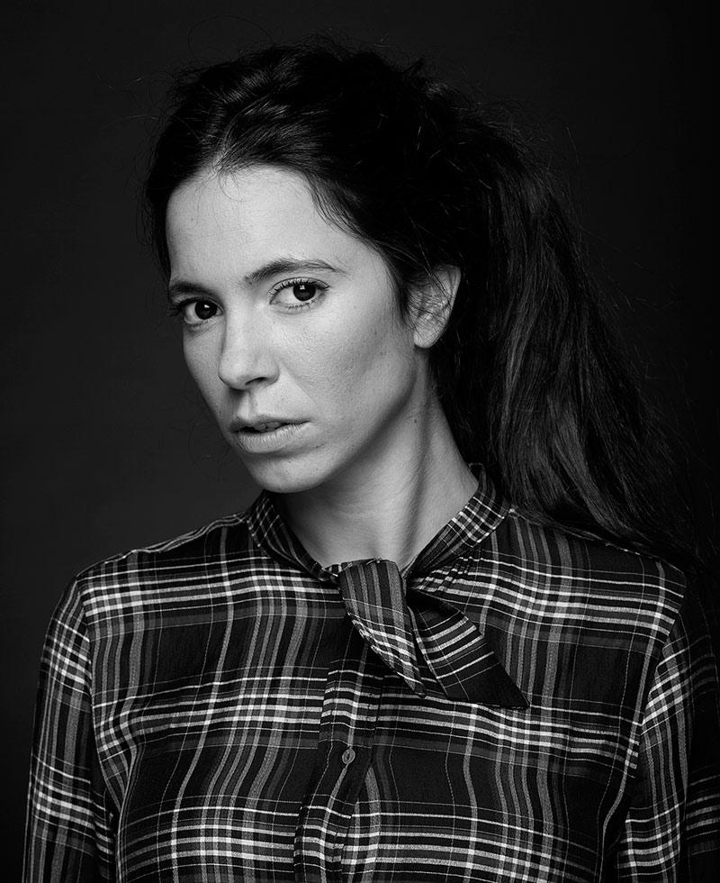 Fotografía de book de la actriz María Salama.