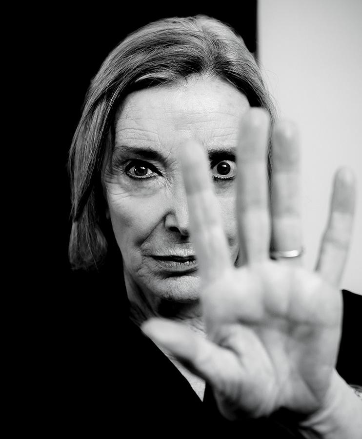 Sesión fotográfica con la actriz Nuria Espert