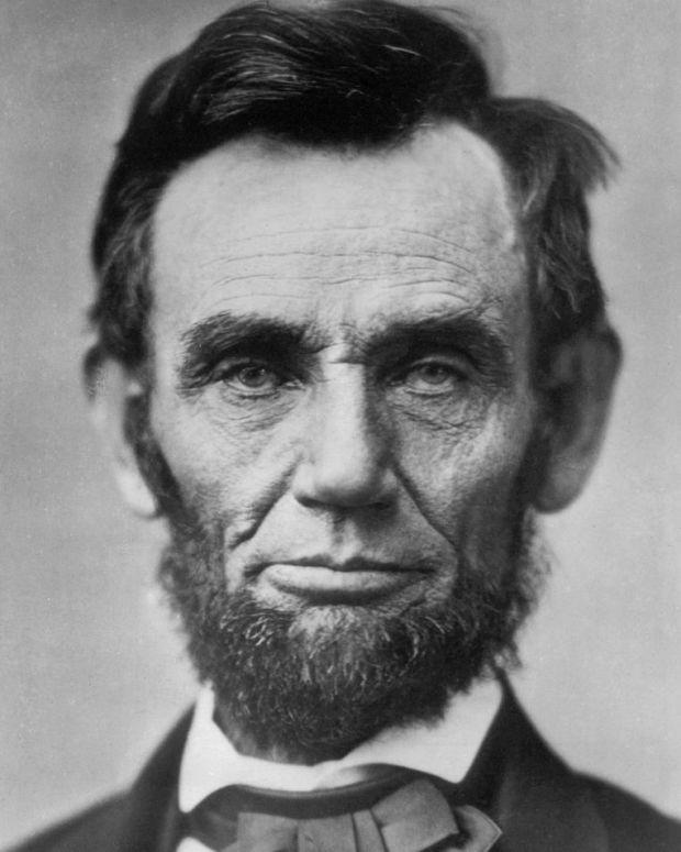 Fotografía de Abraham Lincoln