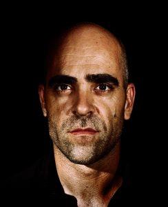 Fotografía al actor Luis Tosar